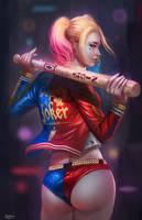 Harley Quinn by NOPEYS