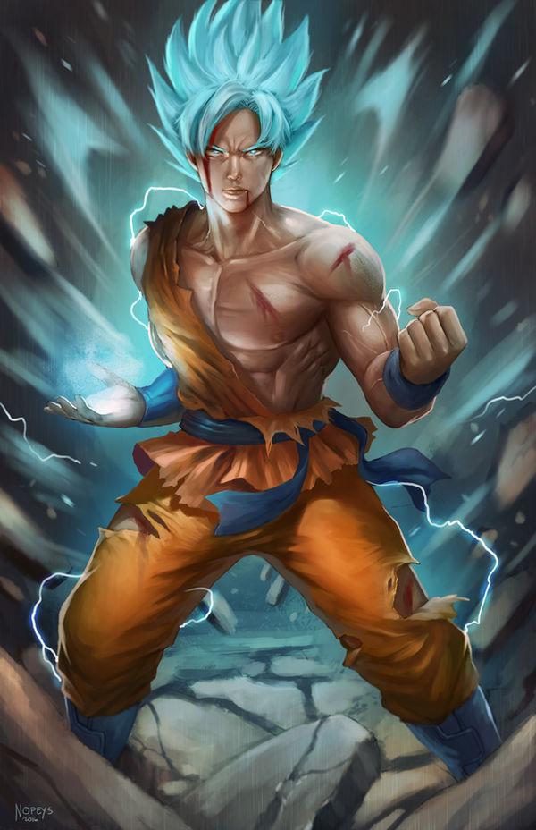 Goku by NOPEYS