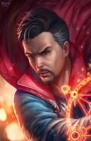 Doctor Strange by NOPEYS