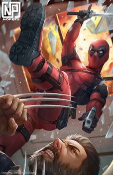 Deadpool Vs Logan