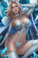 Emma Frost by NOPEYS