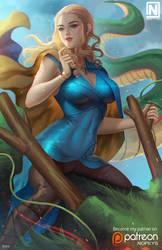 Daenerys X Shenron by NOPEYS