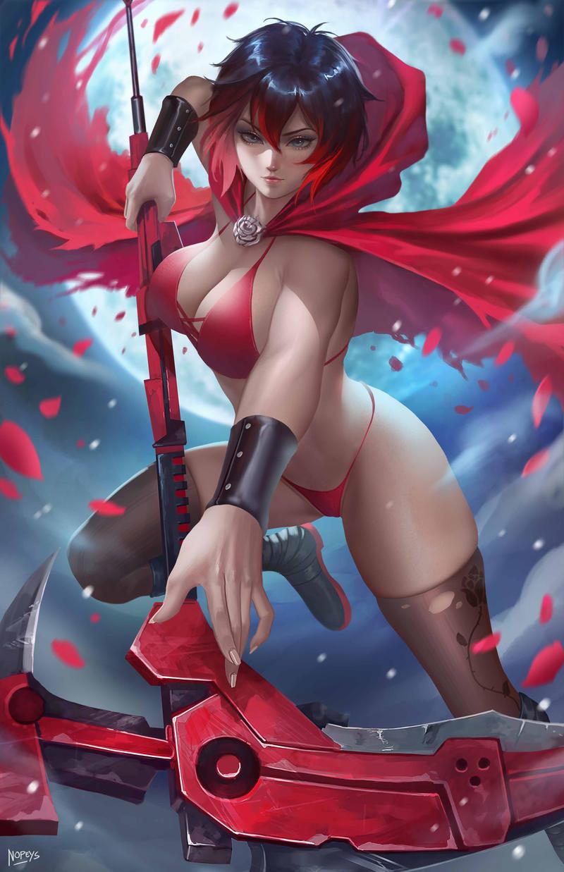 Ruby Rose bikini alt