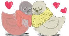 Lovey dovey Quails by allieantic