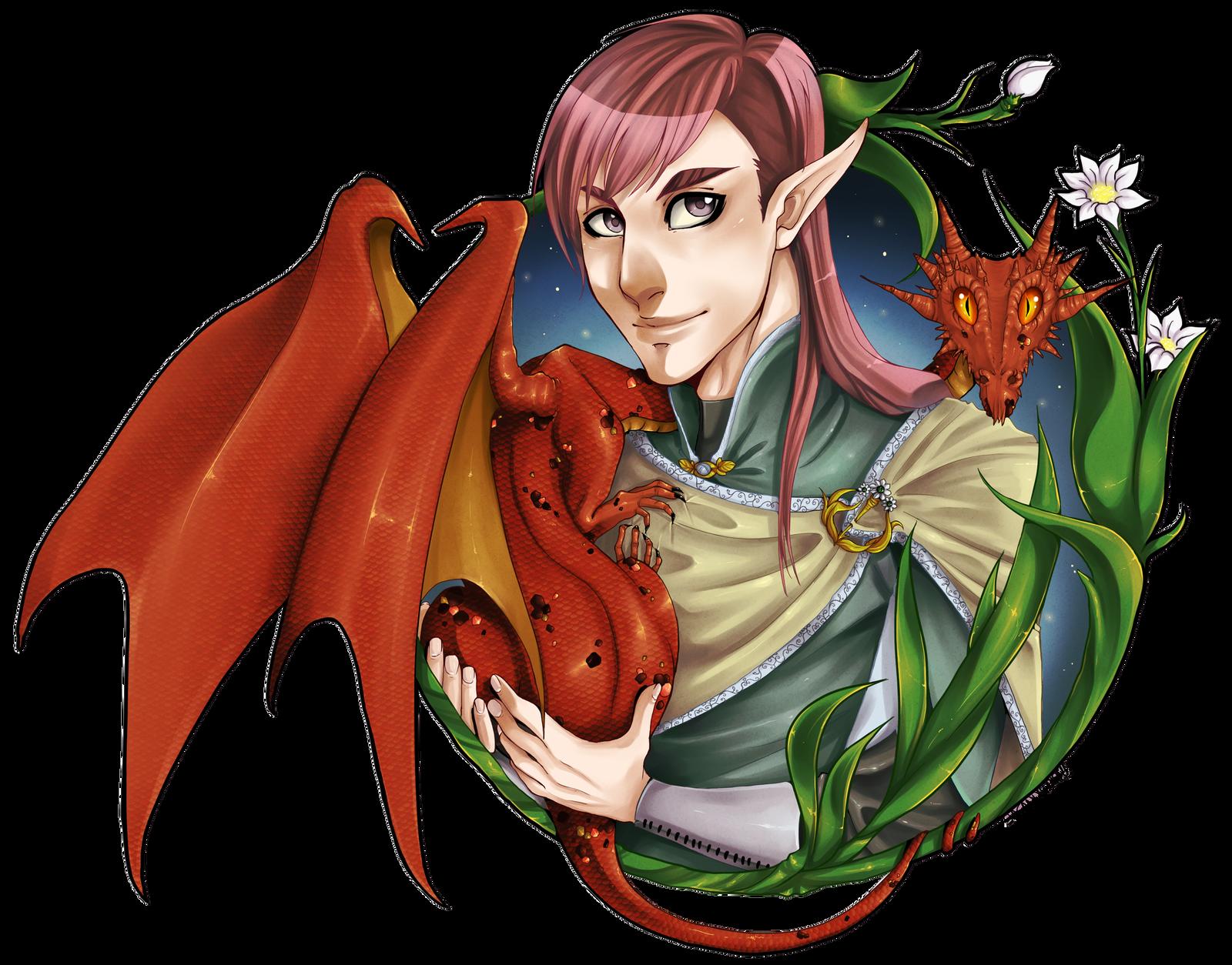 Dragon Master by Saganu