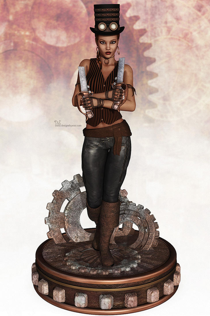 Steampunk Pirate by DesignsByEve