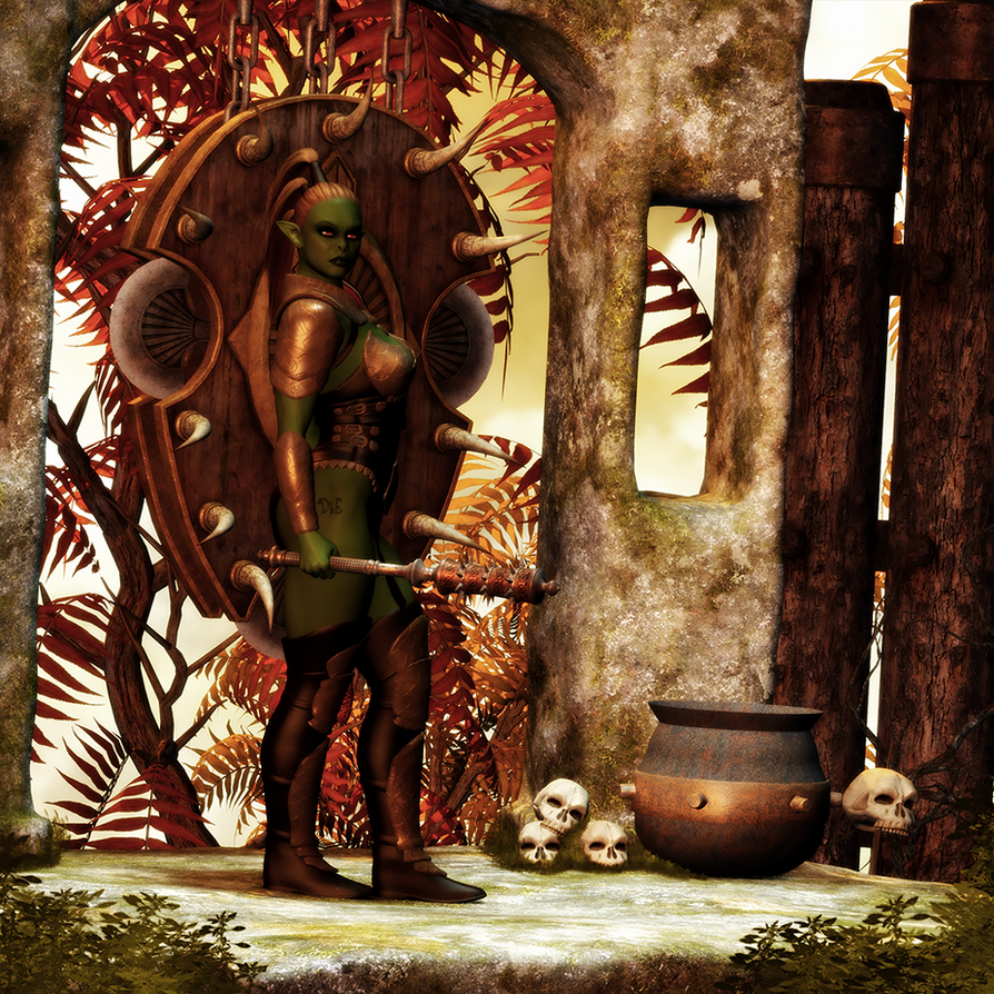 Jade Warrior by DesignsByEve
