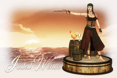 Jaded Wench by DesignsByEve