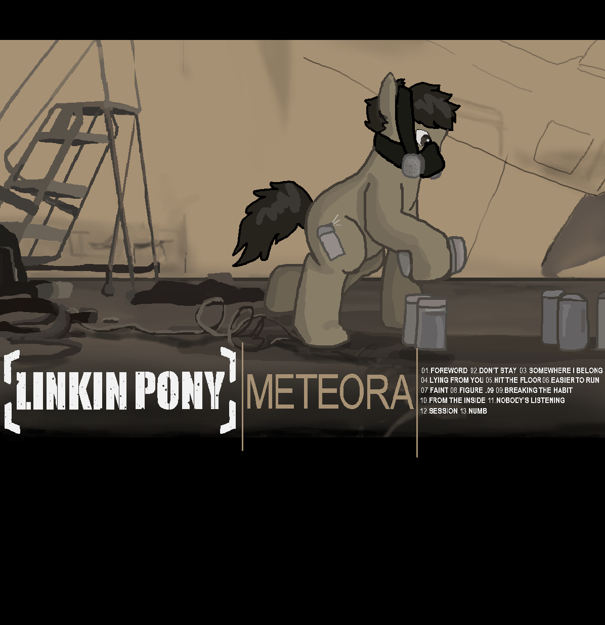 Linkin Pony: Meteora By Kaciekk On DeviantArt