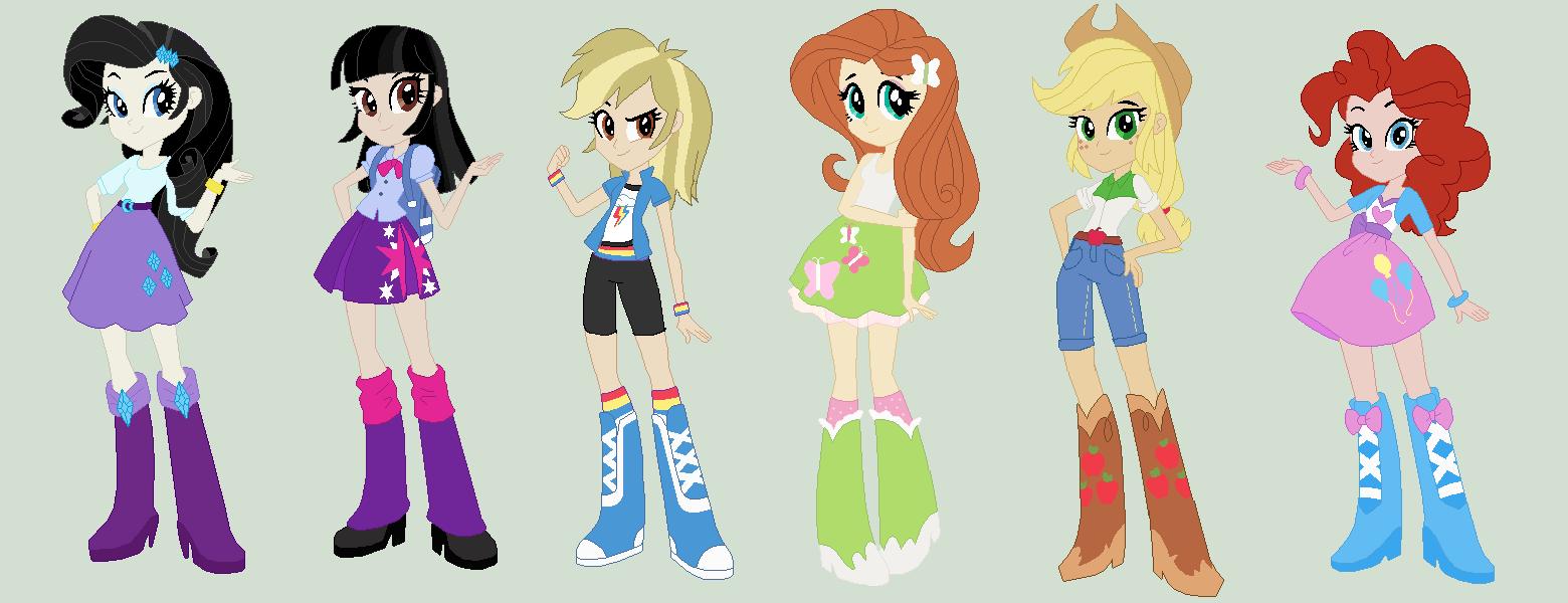 Boy Mlp Hairstyles: Real Equestria Girls By Kaciekk On DeviantArt