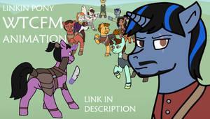 Linkin Pony WTCFM ANIMATION (link) by kaciekk