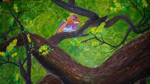 The Philippine dwarf kingfisher by ArTcAmZ