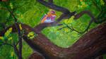 The Philippine dwarf kingfisher
