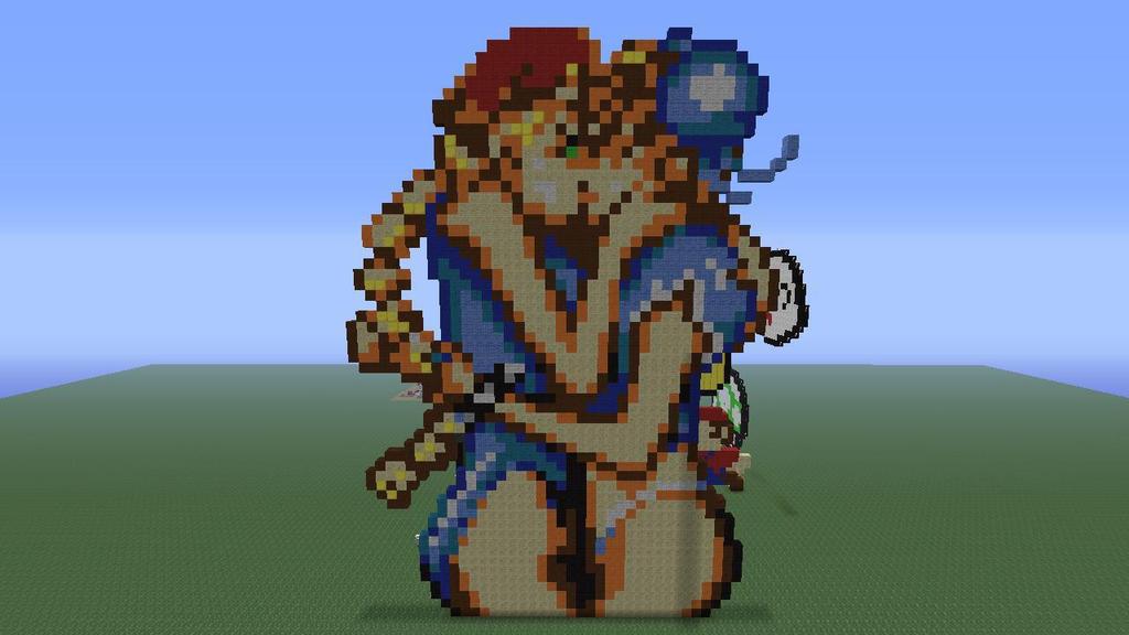 Cammy And Chun-Li - Pixel Art By Loloasuna On Deviantart