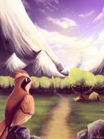 Pokemon Kanto scene by jkz123pl