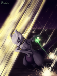 Mewtwo in combat