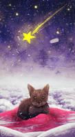Merry christmas! :D ~ christmas cat