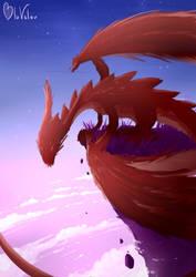 Red Dragon speedpaint by jkz123pl