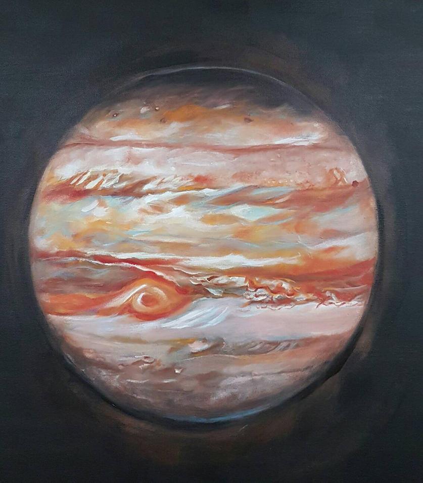 Jupiter by oilpastelpainting
