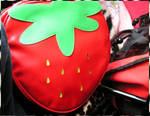 MAY - Strawberry handbag