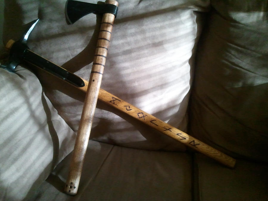 Hammer N Hawk WIP by evike71