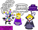 Papercraft Perils: A King, A Queen and a Jester