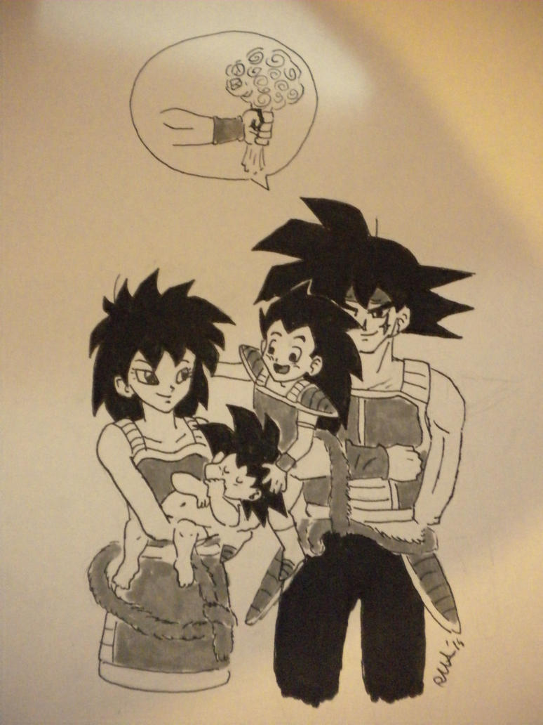Bardock's family :) by RMAlexis