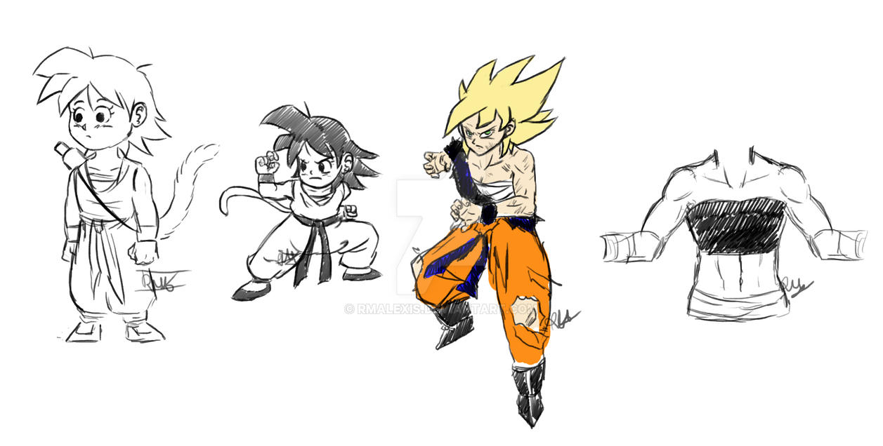 fem goku references and opinions by rmalexis on deviantart