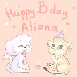 Happy Birthday Aliana!