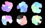 F2U Pastel Color Palettes #1