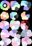 F2U Pastel Color Palettes #2