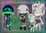 Masked Outfit Adopts (closed ty!!~)