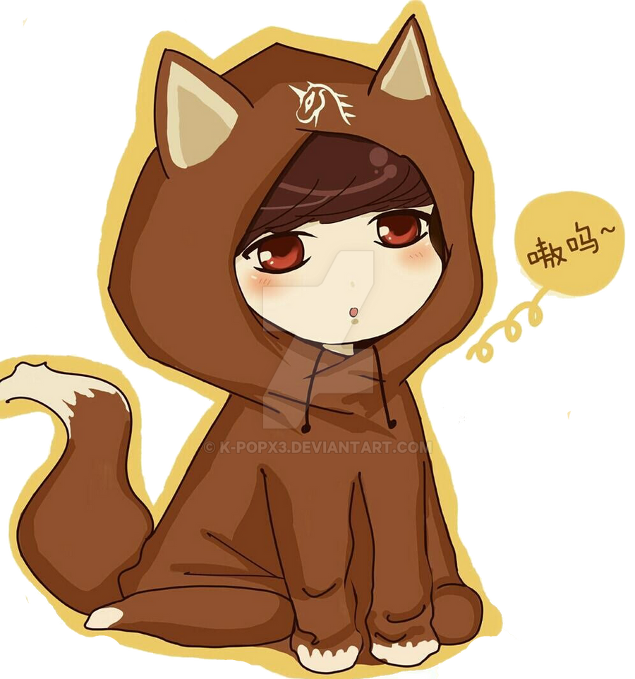 Exo Lay Chibi -PNG- by K-popx3 on DeviantArt