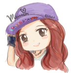 Girls Generation Tiffany Chibi -RENDER-