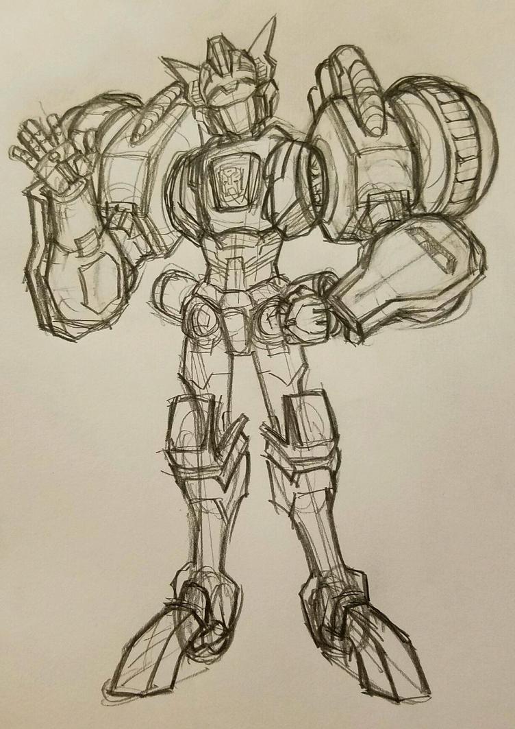 Chromedome sketch by Underbase