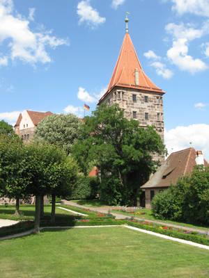 Nuremberg castle, Germany by johnslegers