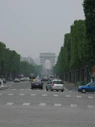 Traffic, Paris, France by johnslegers