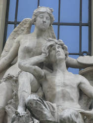 Statue, Paris, France by johnslegers