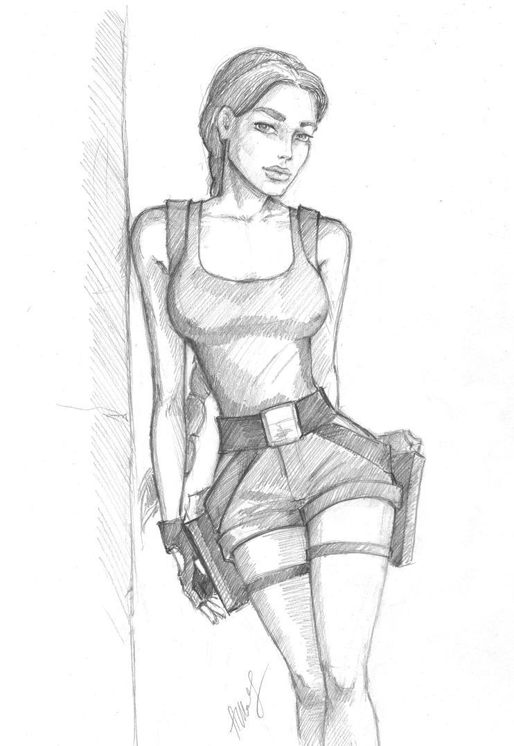 TR 2, Lara Croft by alineshenon