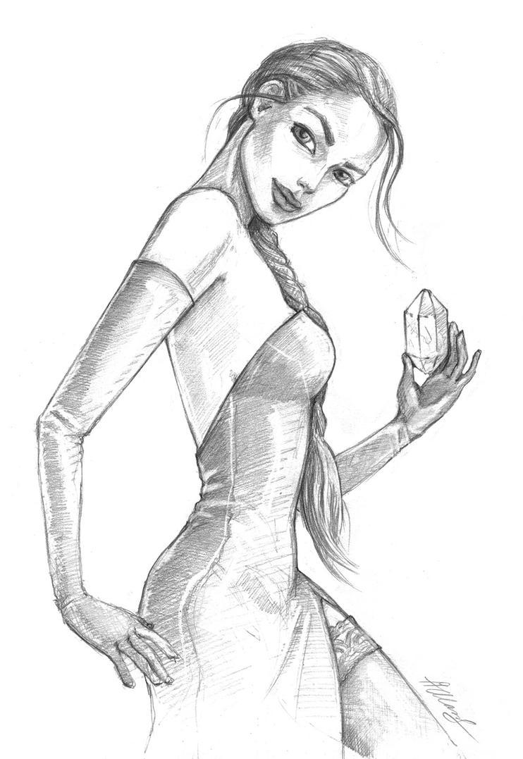 Tomb Raider 5, Opera dress by alineshenon