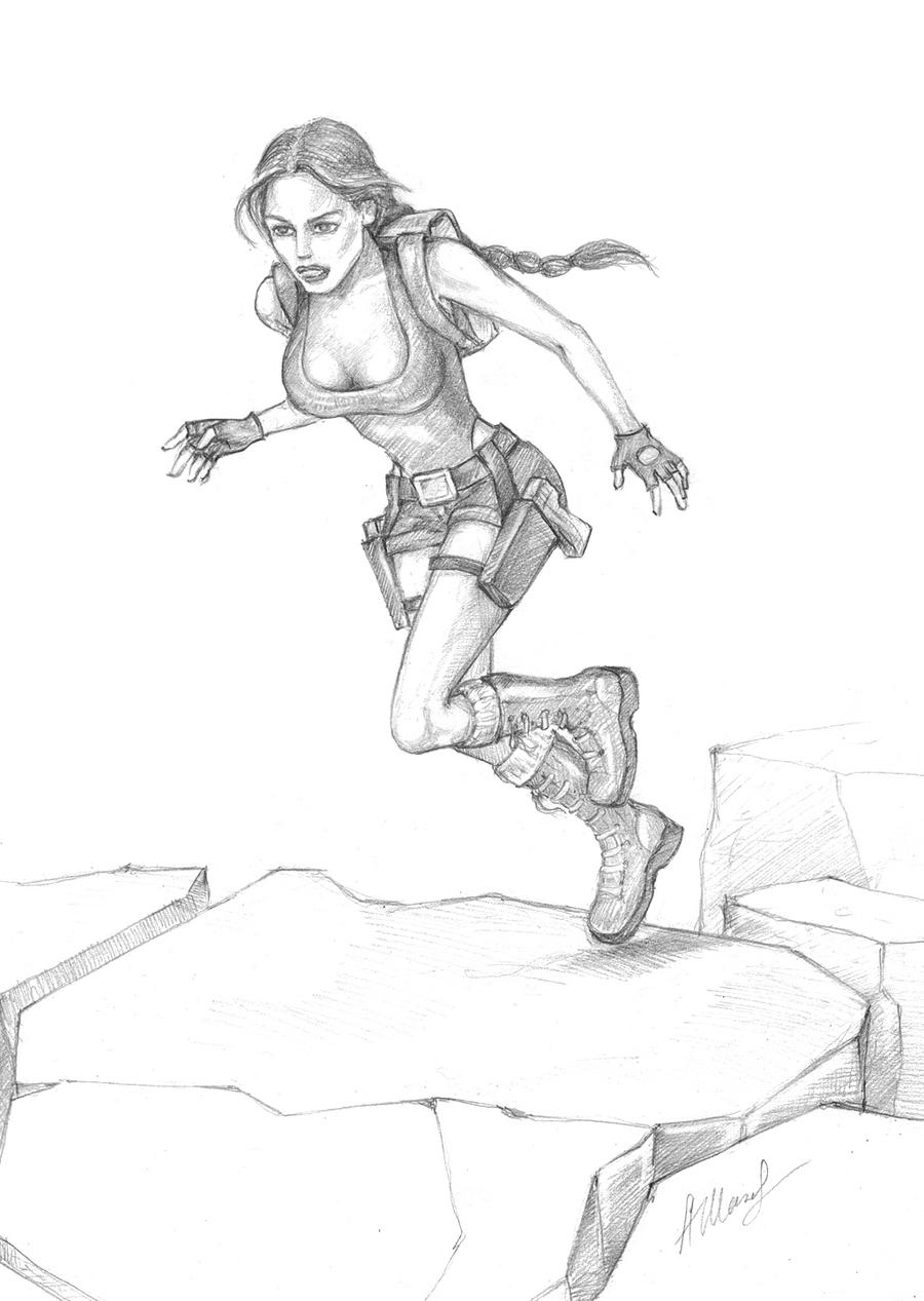 Run Lara Run! by alineshenon