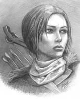 Lara Croft from Rise of the Tomb Raider by alineshenon