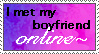 Online Boyfriend Stamp by FlashyFashionFraud