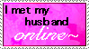Online Husband Stamp by FlashyFashionFraud