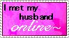 Online Husband Stamp by FlashyFashionFraud