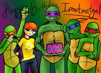 Happy Birthday, Imatmntgal! by FlashyFashionFraud