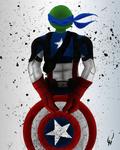 TMNT Super Hero Series-Leo
