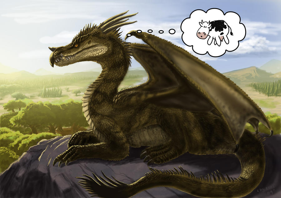 Dragon Morning by LDN-RDNT