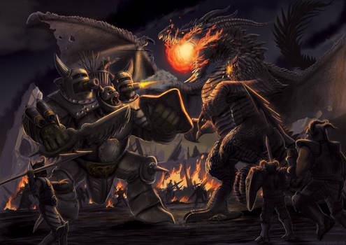 War Machine Troll Vs Dragon