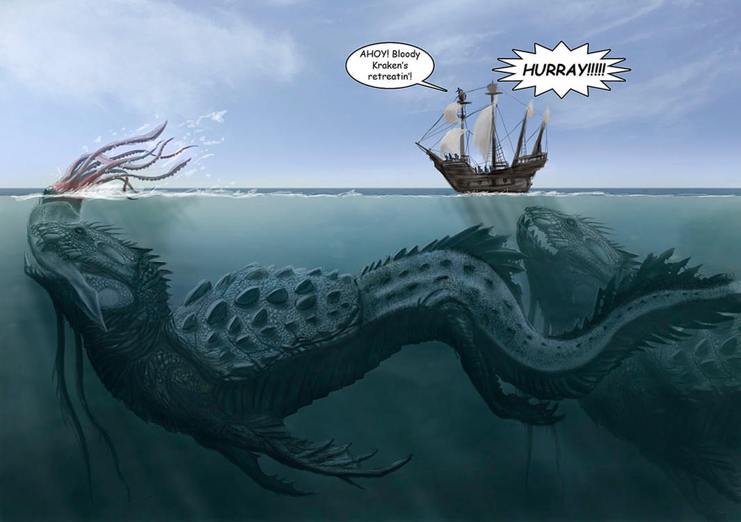 Sea Monsters By LDN RDNT